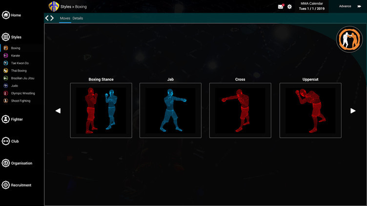 MMA Team Manager Screenshot 16