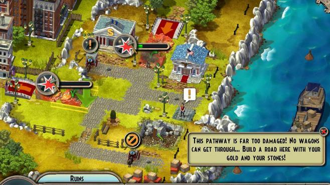 Monument Builders: Statue of Liberty Screenshot 2