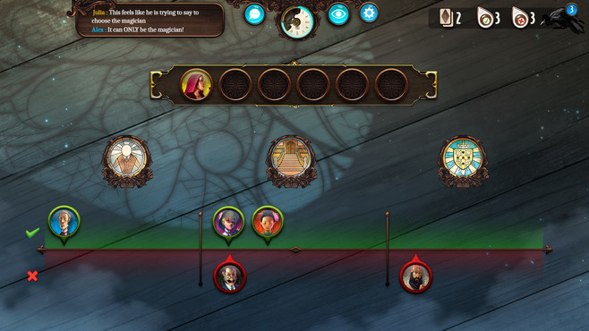 Mysterium: A Psychic Clue Game Screenshot 1
