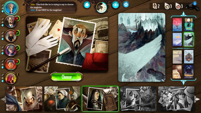 Mysterium: A Psychic Clue Game Screenshot 3