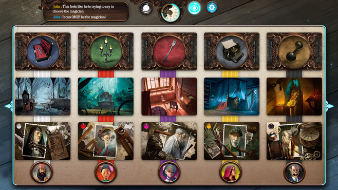 Mysterium: A Psychic Clue Game Screenshot 4