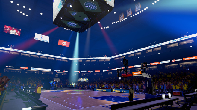 NBA 2KVR Experience Screenshot 2