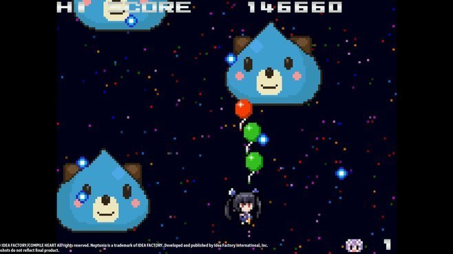 Neptunia Shooter Screenshot 1
