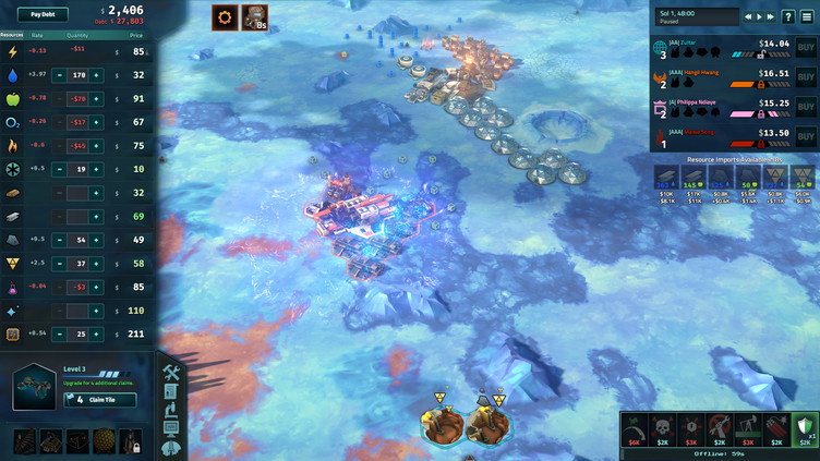 Offworld Trading Company: The Europa Wager Expansion Screenshot 5