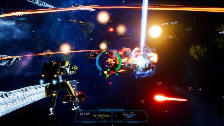 Omnibion War Screenshot 1