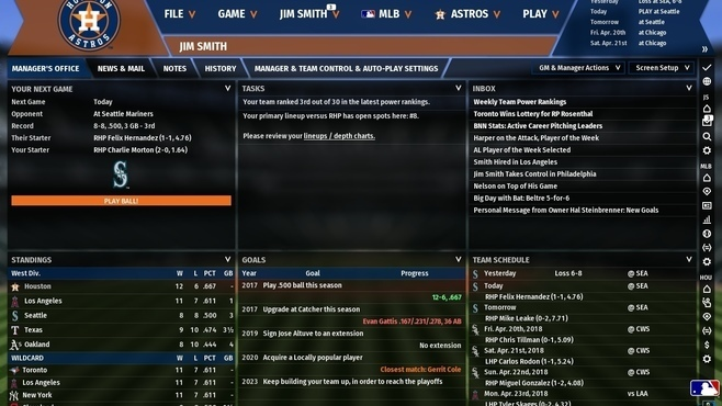 Out of the Park Baseball 19 Screenshot 1