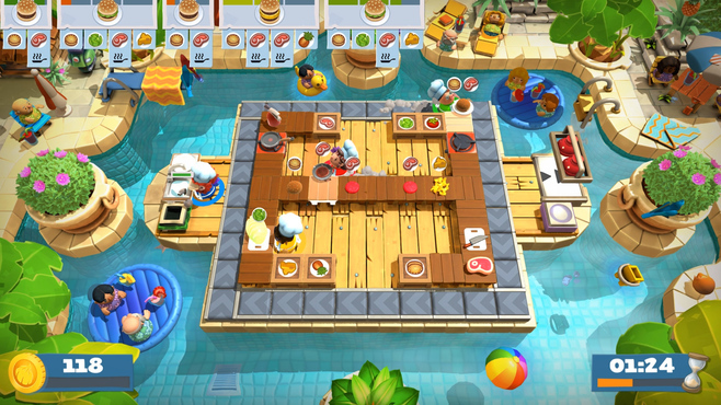 Overcooked! 2 - Surf 'n' Turf Screenshot 5