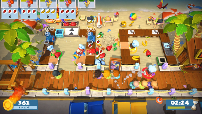 Overcooked! 2 - Surf 'n' Turf Screenshot 8