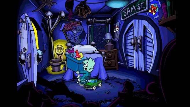 Pajama Sam's Sock Works Screenshot 1