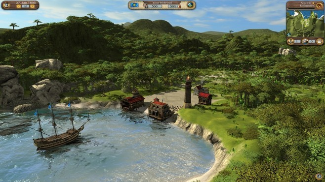 Port Royale 3: Dawn of Pirates DLC Screenshot 1