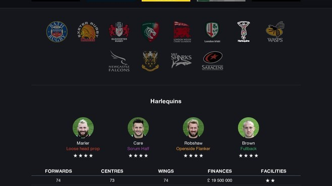 Pro Rugby Manager 2015 Screenshot 6