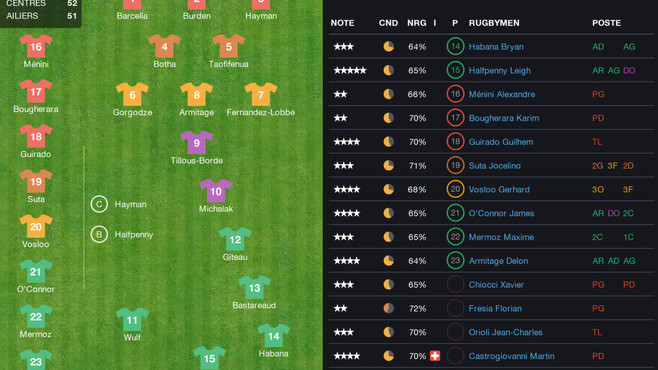 Pro Rugby Manager 2015 Screenshot 14