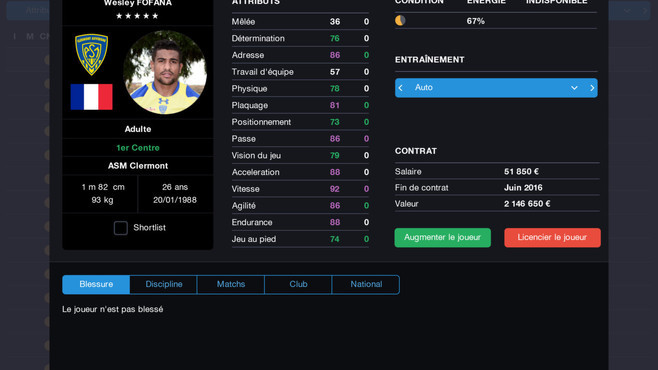 Pro Rugby Manager 2015 Screenshot 29