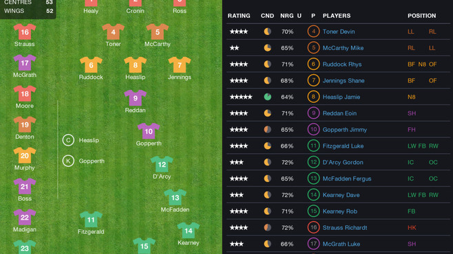 Pro Rugby Manager 2015 Screenshot 32