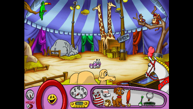 Putt-Putt® Joins the Circus Screenshot 4