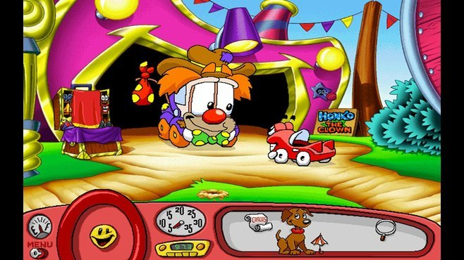 Putt-Putt® Joins the Circus Screenshot 6