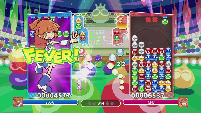 Puyo Puyo Champions Screenshot 1