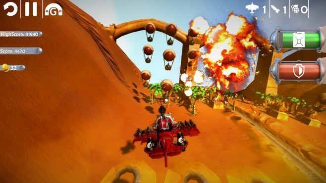 Red Barton and the Sky Pirates Screenshot 5