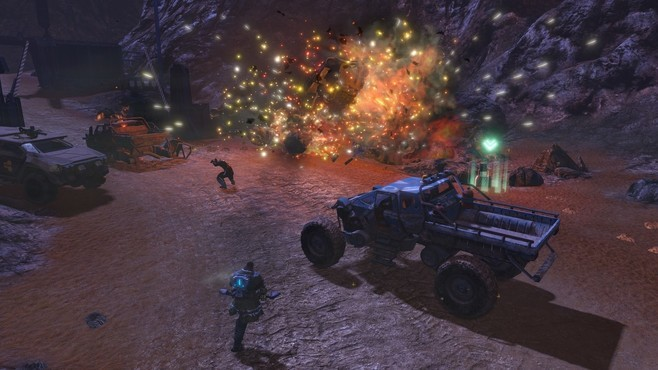 Red Faction: Guerrilla Re-Mars-tered Screenshot 2