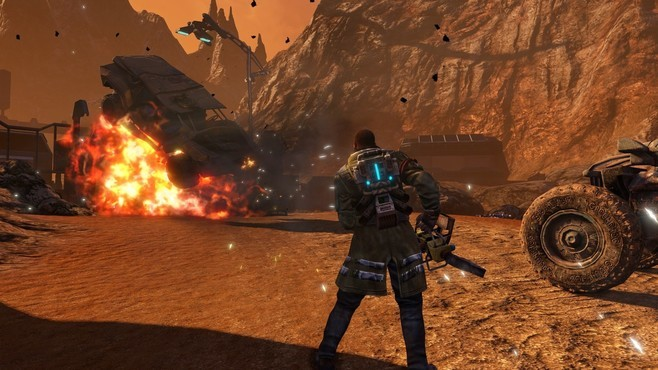 Red Faction: Guerrilla Re-Mars-tered Screenshot 5