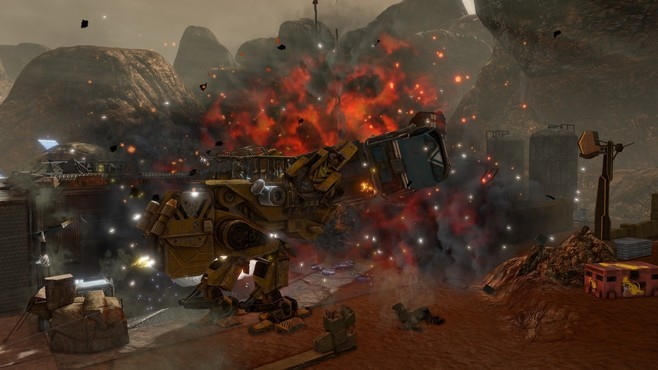 Red Faction: Guerrilla Re-Mars-tered Screenshot 6