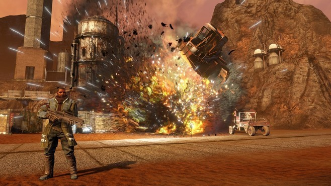 Red Faction: Guerrilla Re-Mars-tered Screenshot 7