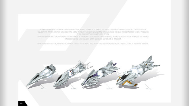 Redout - Digital Artbook Screenshot 5