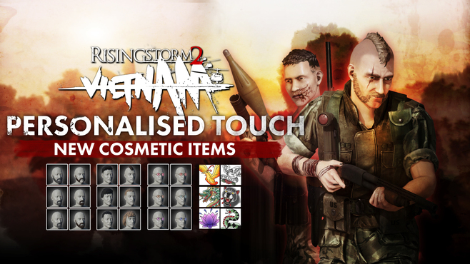 Rising Storm 2: Vietnam - Personalized Touch Cosmetic DLC Screenshot 1