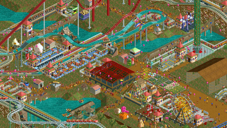 RollerCoaster Tycoon 2: Triple Thrill Pack Screenshot 4