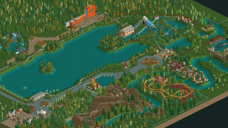 RollerCoaster Tycoon 2: Triple Thrill Pack Screenshot 5