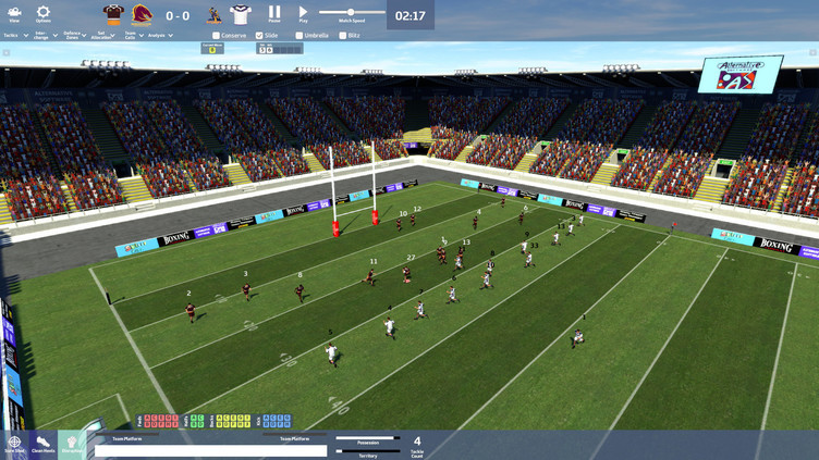 Rugby League Team Manager 2018 Screenshot 1
