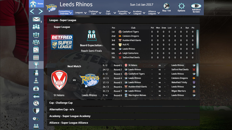 Rugby League Team Manager 2018 Screenshot 10