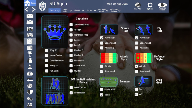 Rugby Union Team Manager 2017 Screenshot 15
