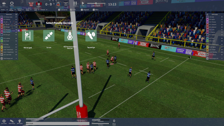 Rugby Union Team Manager 2017 Screenshot 16