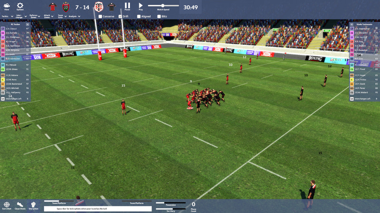 Rugby Union Team Manager 2017 Screenshot 17