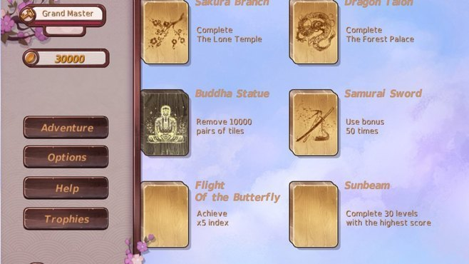 Sakura Day Mahjong Screenshot 3