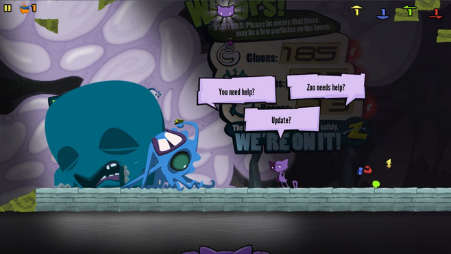 Schrödinger's Cat And The Raiders Of The Lost Quark Screenshot 3
