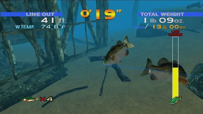 SEGA Bass Fishing™ Screenshot 2