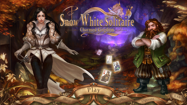 Snow White Solitaire Charmed Kingdom Screenshot 10