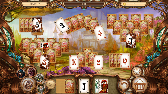 Snow White Solitaire Charmed Kingdom Screenshot 6