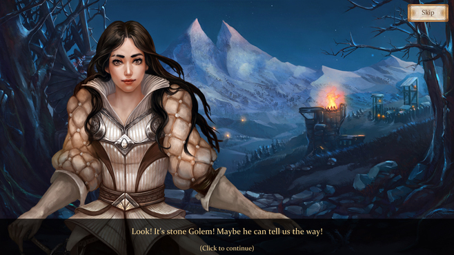 Snow White Solitaire Charmed Kingdom Screenshot 1