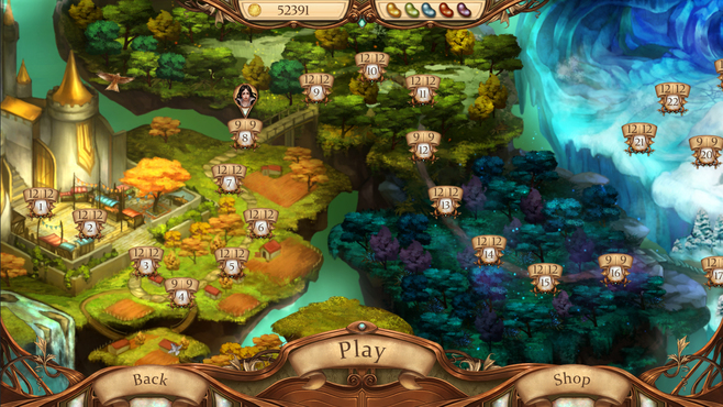 Snow White Solitaire Charmed Kingdom Screenshot 9