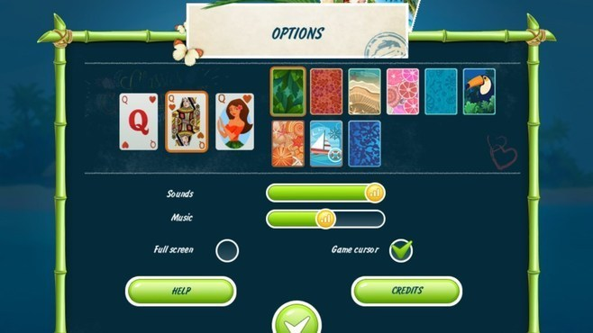 Solitaire Beach Season Screenshot 2
