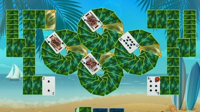 Solitaire Beach Season Screenshot 4