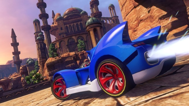 Sonic & All-Stars Racing Transformed Collection Screenshot 13