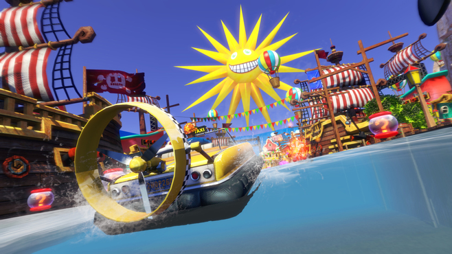 Sonic & All-Stars Racing Transformed Collection Screenshot 14