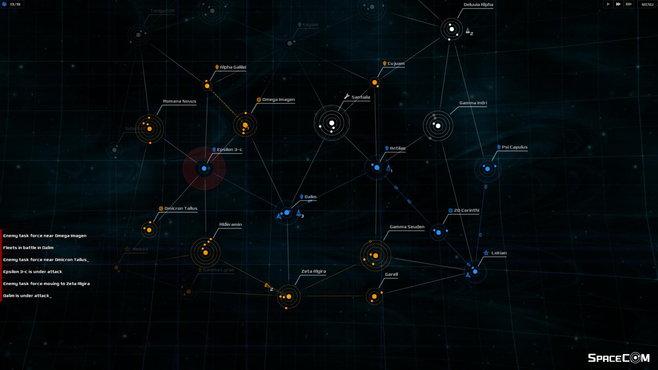 SPACECOM Screenshot 2