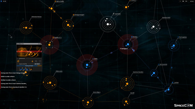 SPACECOM Screenshot 3