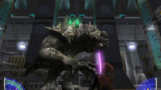 Star Wars Jedi Knight - Jedi Academy Screenshot 5
