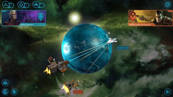 Starion Tactics Screenshot 1